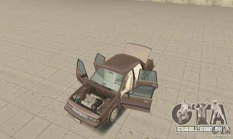 Oldsmobile Cutlass Ciera 1993 para GTA San Andreas vista interior