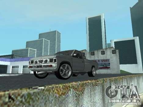 Nissan Pick-up D21 para GTA San Andreas esquerda vista