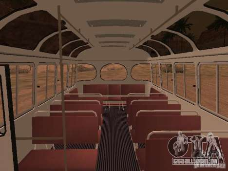 SULCO 672.60 para GTA San Andreas vista inferior