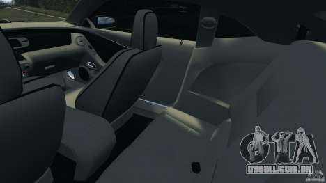 Chevrolet Camaro ZL1 2012 v1.0 Flames para GTA 4 vista interior