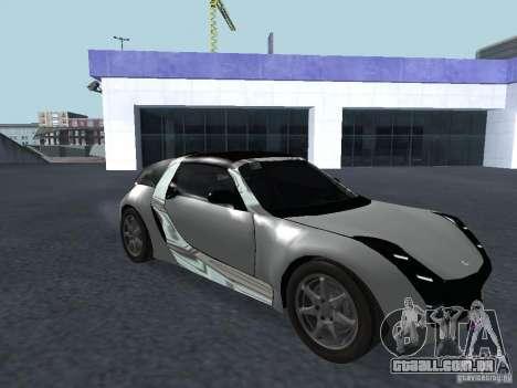Smart Roadster Coupe para GTA San Andreas esquerda vista