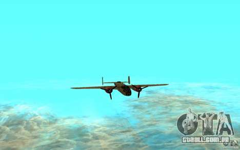 B-25 Mitchell para GTA San Andreas