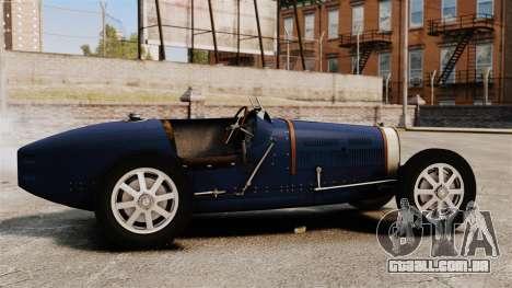 Bugatti Type 51 para GTA 4 esquerda vista