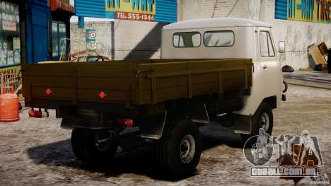 UAZ 451DM para GTA 4 vista interior