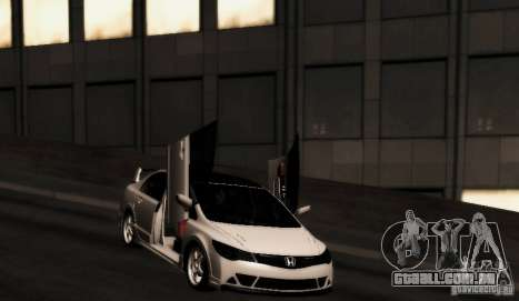 Honda Civic JDM para GTA San Andreas vista direita