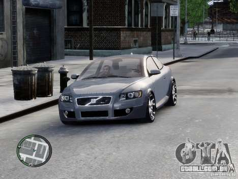 VOLVO C20 RSIGION para GTA 4 traseira esquerda vista