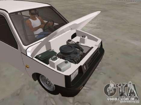 VAZ 1111 Oka para vista lateral GTA San Andreas
