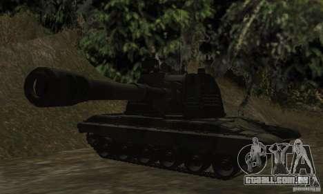 2S19 Msta-s, versão standard para GTA San Andreas