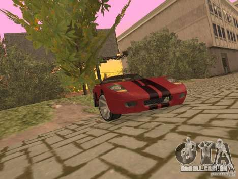 Bullet HQ para GTA San Andreas vista interior
