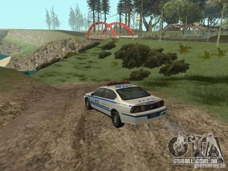 Polícia de GTA 4 para GTA San Andreas vista direita