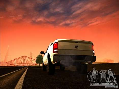 Dodge Ram Heavy Duty 2500 para GTA San Andreas esquerda vista