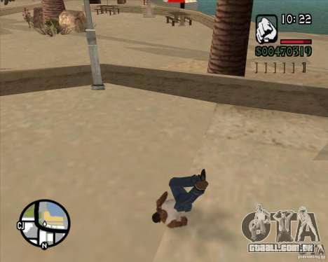 Endorphin Mod v.3 para GTA San Andreas segunda tela