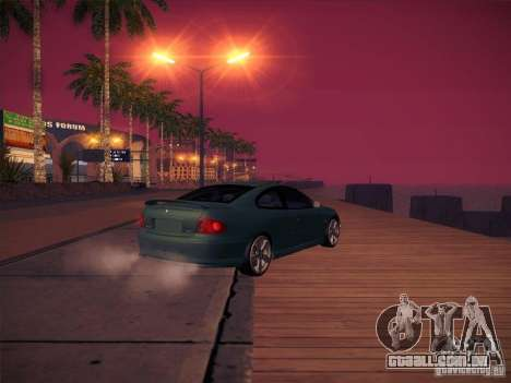 Pontiac FE GTO para GTA San Andreas vista interior