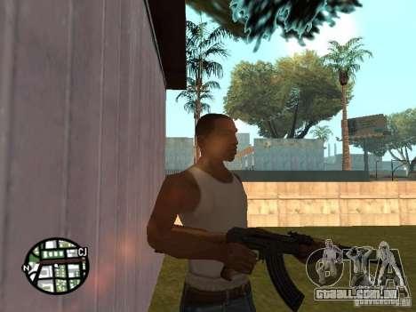 Nova marca de AK-47 para GTA San Andreas segunda tela