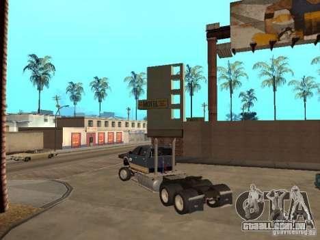 Dodge Ram para GTA San Andreas vista traseira