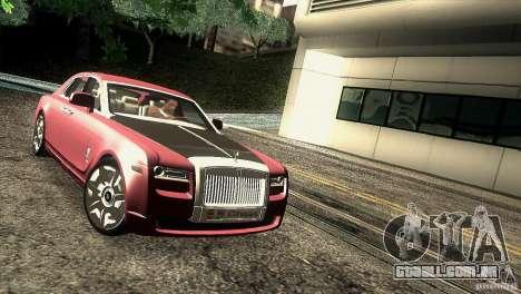 Rolls-Royce Ghost 2010 V1.0 para GTA San Andreas vista traseira