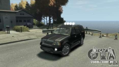 Lincoln Navigator para GTA 4