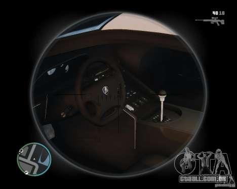 Lamborghini Diablo SV 1997 EPM v.2.3 para GTA 4 vista de volta