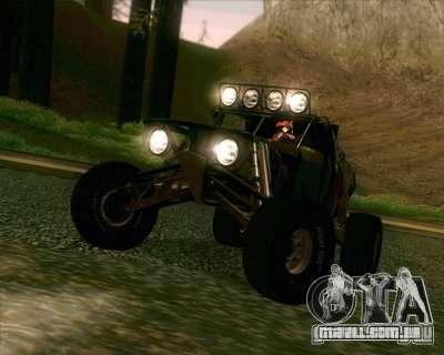 Ickler Jimco Buggy para GTA San Andreas traseira esquerda vista