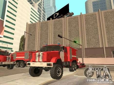 ZIL Firetruck para GTA San Andreas