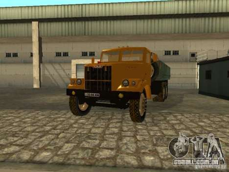 Mesa de caminhão KrAZ v. 2 para vista lateral GTA San Andreas
