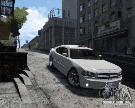 Dodge Charger RT 2006 para GTA 4 traseira esquerda vista