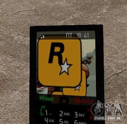 Novos temas para o seu telefone para GTA 4 oitavo tela