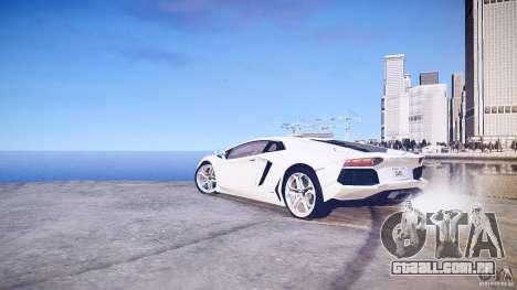 Lamborghini Aventador LP700-4 v1.0 para GTA 4 vista direita