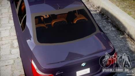 BMW M5 Lumma Tuning [BETA] para GTA 4 vista superior
