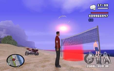 SA Volleyball para GTA San Andreas