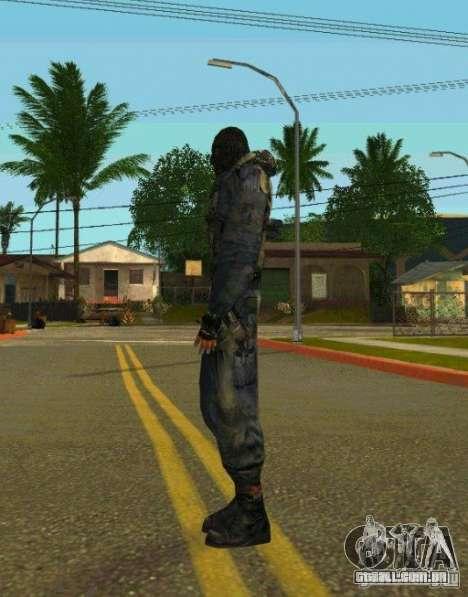 Peles de STALKER para GTA San Andreas twelth tela