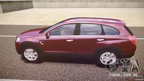 Chevrolet Captiva 2010 Final para GTA 4 traseira esquerda vista