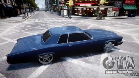 Buccaner Tuning para GTA 4 vista interior