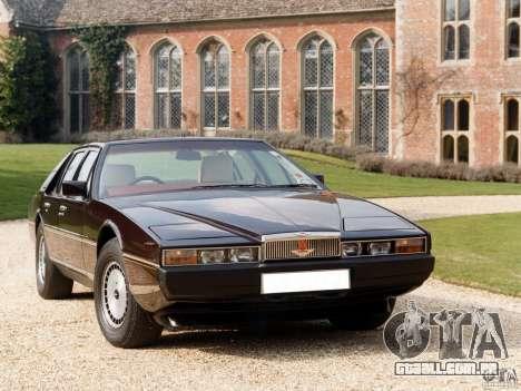 Aston Martin Lagonda, (I) 5.3 (1976-1997) para GTA Vice City vista direita