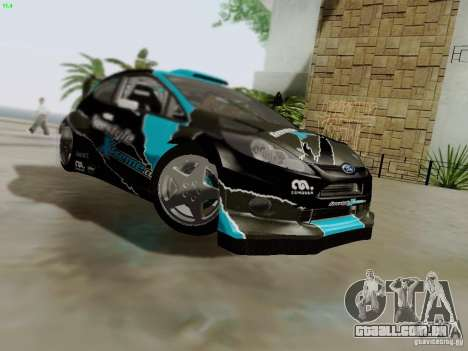 Ford Fiesta RS para GTA San Andreas vista inferior