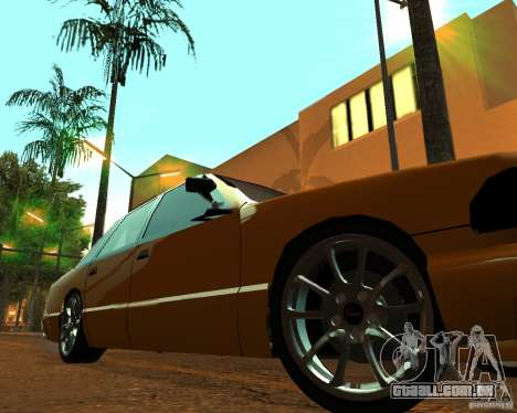 Azik Taxi para GTA San Andreas vista direita