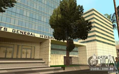 UGP Moscow New General Hospital para GTA San Andreas sétima tela
