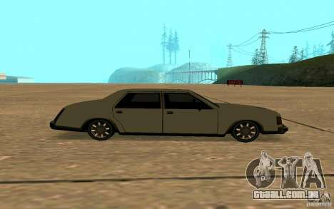 FBI Washington para GTA San Andreas vista interior