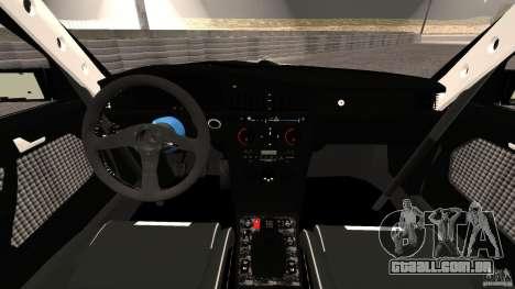 Esporte de Mercedes-Benz 190E 2.3-16 para GTA 4 vista de volta