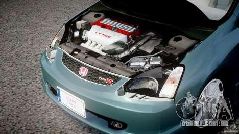 Honda Civic Type-R para GTA 4 vista de volta