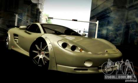 Ascari KZ1R Limited Edition para GTA San Andreas vista superior