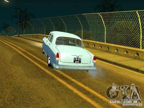 Volga GAZ 21 para GTA San Andreas esquerda vista