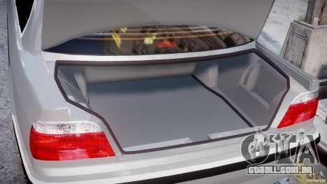 BMW 750i v1.5 para GTA 4 interior