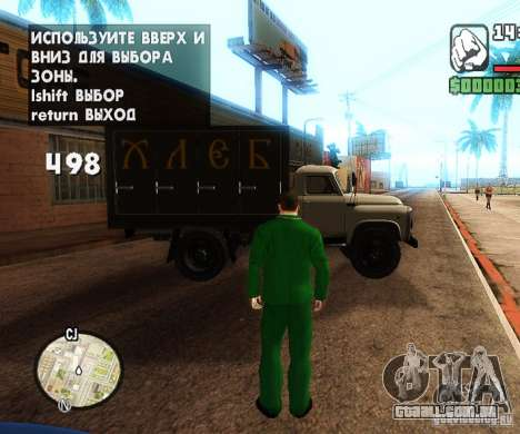 Сar carros de spawn-spawn para GTA San Andreas terceira tela