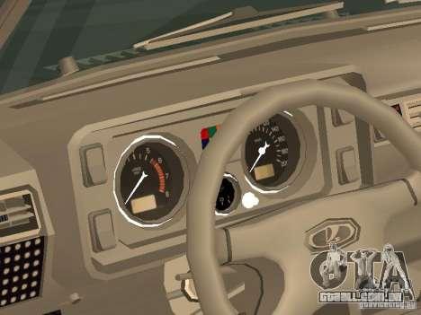 2105 VAZ, v. 2 para GTA San Andreas vista direita