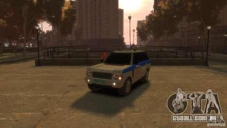 Land Rover Range Rover Police para GTA 4