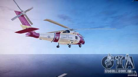 HH-60J Jayhawk para GTA 4 traseira esquerda vista