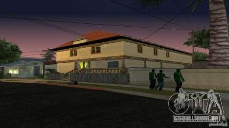 Novas texturas de casas e garagens para GTA San Andreas terceira tela