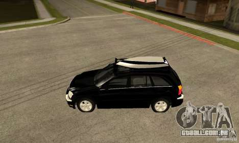 Chrysler Pacifica para GTA San Andreas esquerda vista