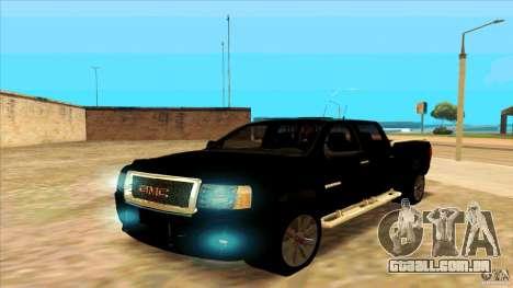 GMC Sierra 2011 para GTA San Andreas